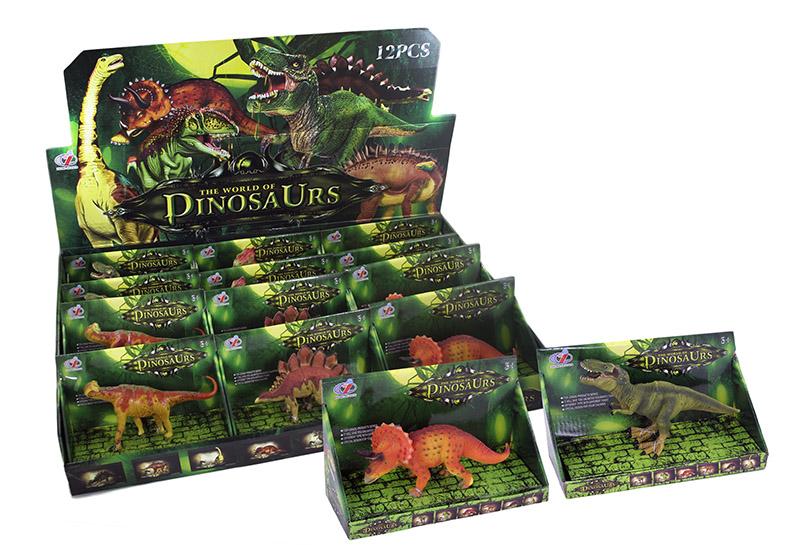 dinosaurus malý v krabici, 6 druhov