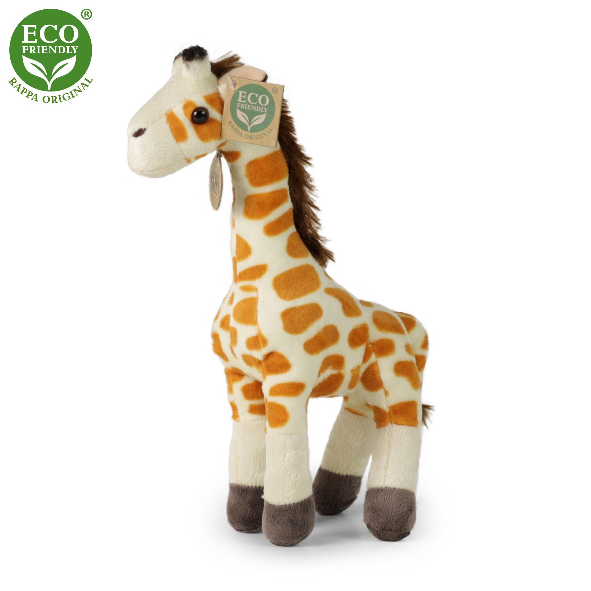 plyšová žirafa, 27 cm