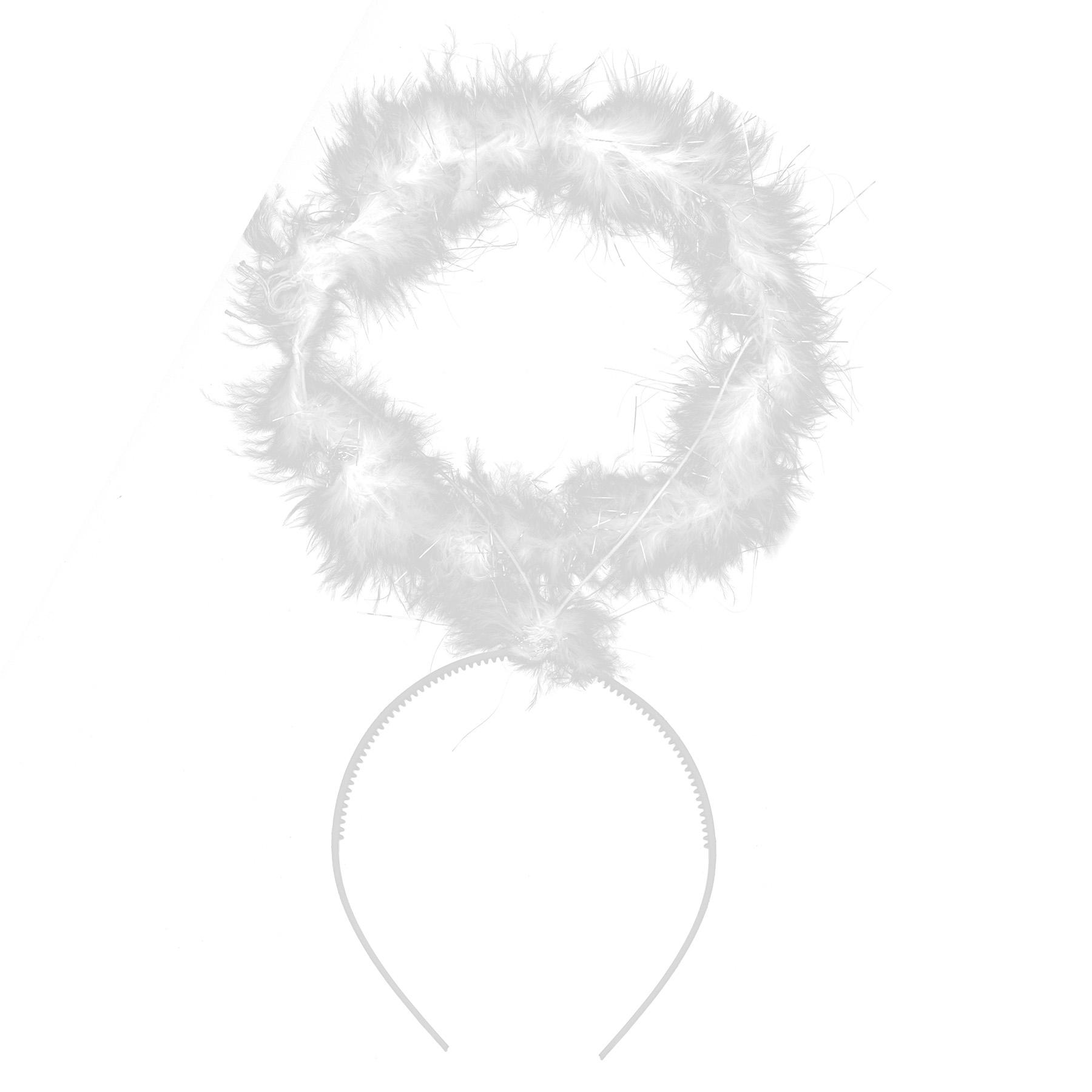čelenka - svätožiara anjelská s perím