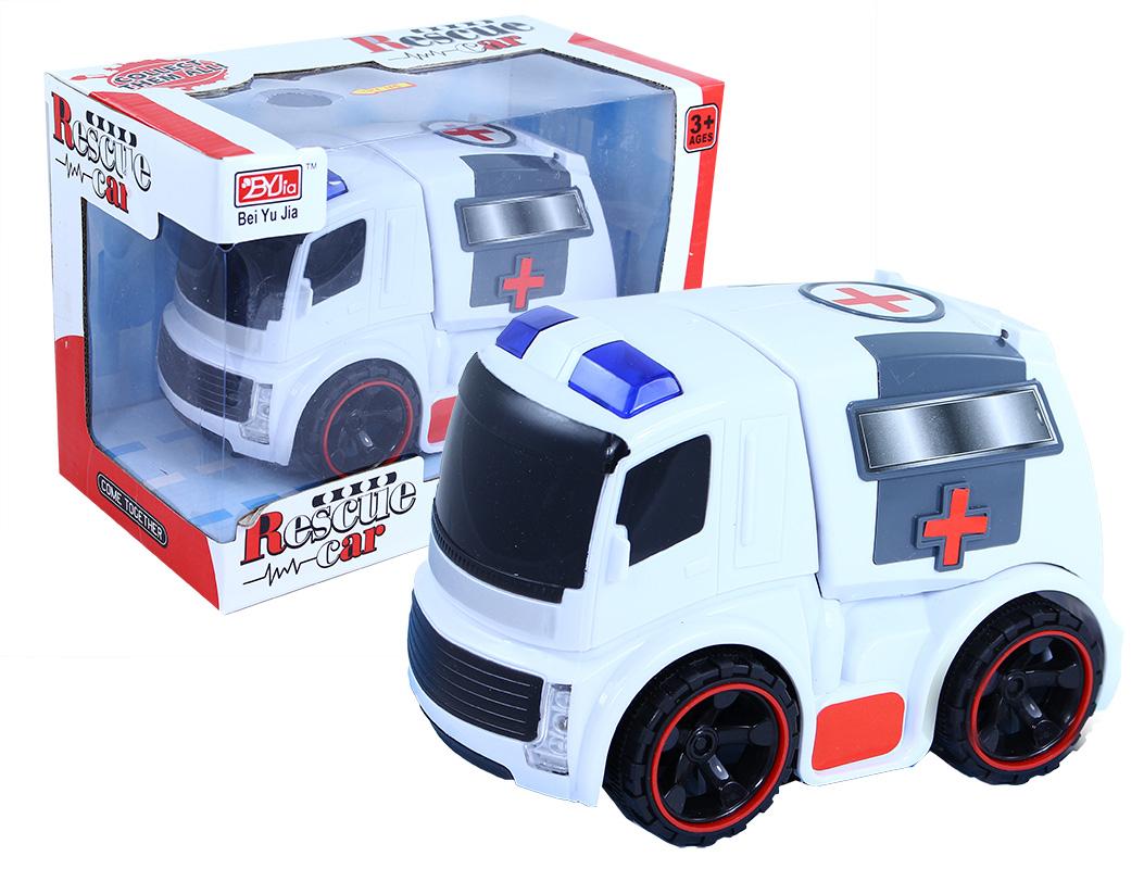 auto ambulancia so svetlom a zvukom