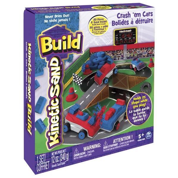 Kinetic Sand BUILD - búrajte so svojimi autami 254 g.