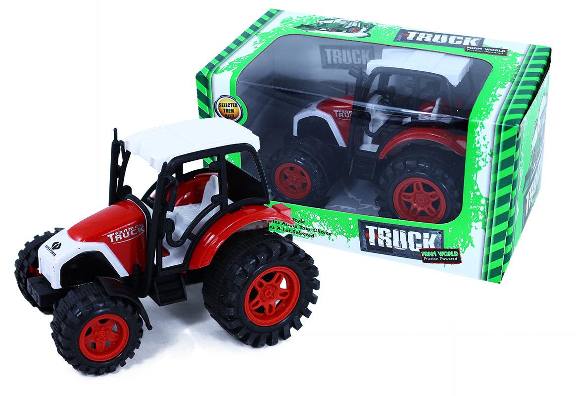 traktor plastový, 14 cm