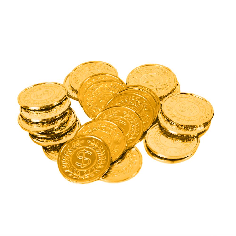 mince pirátske v sieťke