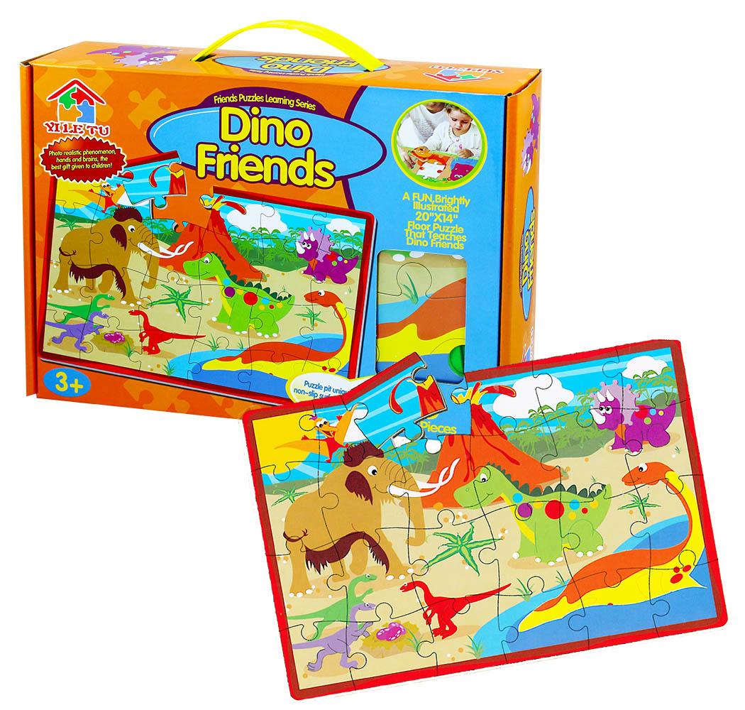 puzzle penové 28 dielikov dinosaury