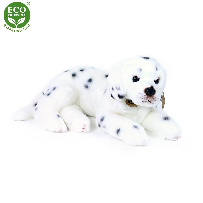 plyšový pes Dalmatín ležiaci, 38 cm