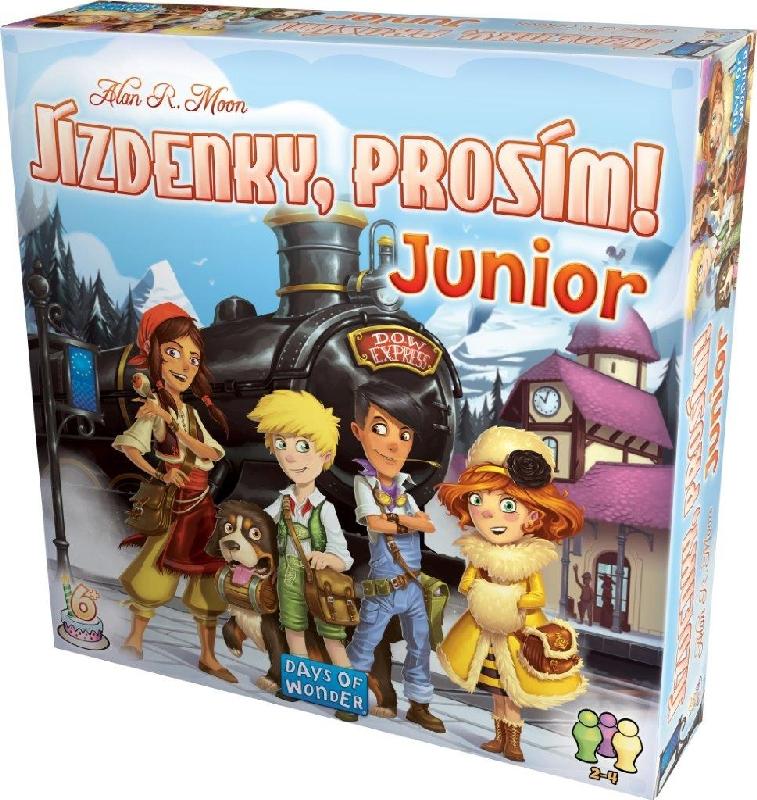 Hra Jízdenky, prosím! Junior