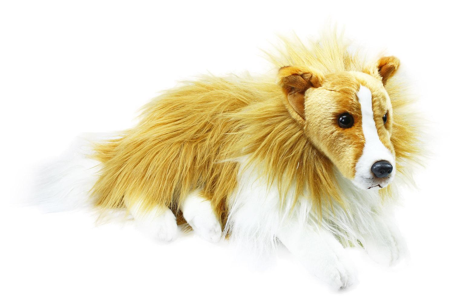 plyšový pes kólia 38 cm