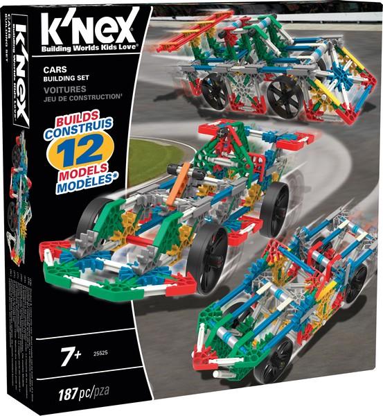KNEX - Stavebnica Postav si auto, 187 dielikov
