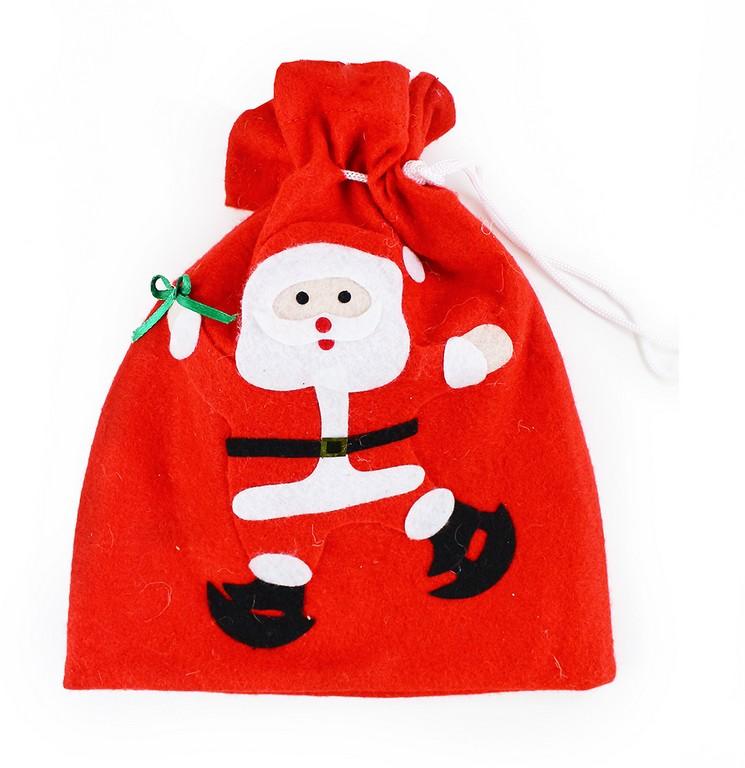 vrecúško vianočné s motívom 24 x 28 cm