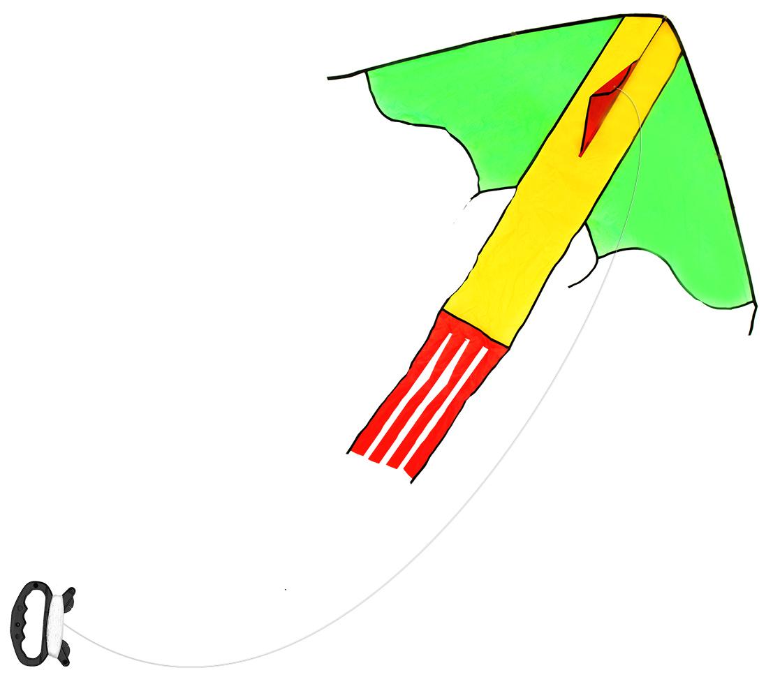 šarkan lietajúci nylonový, 118 x 98 cm