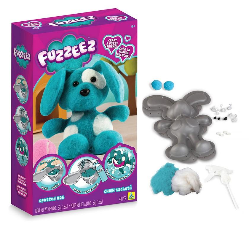 výroba psíka Fuzzeez