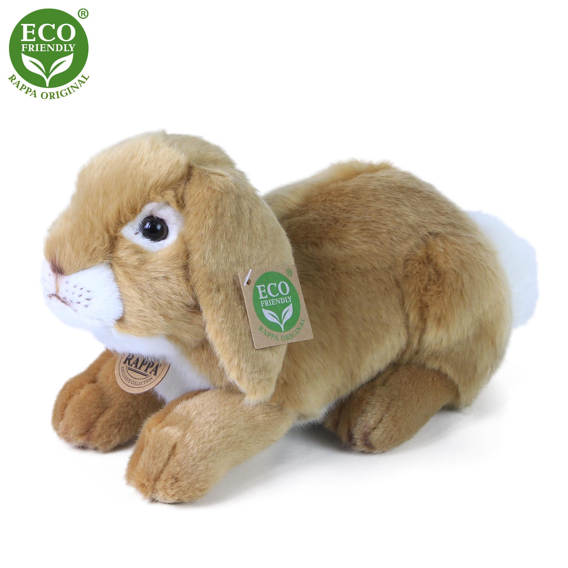 plyšový králik ležiaci, 30 cm
