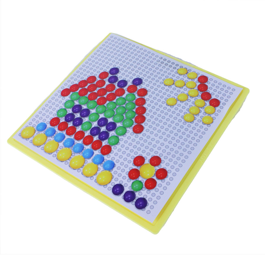 mozaika barevná s hříbky 2 druhy