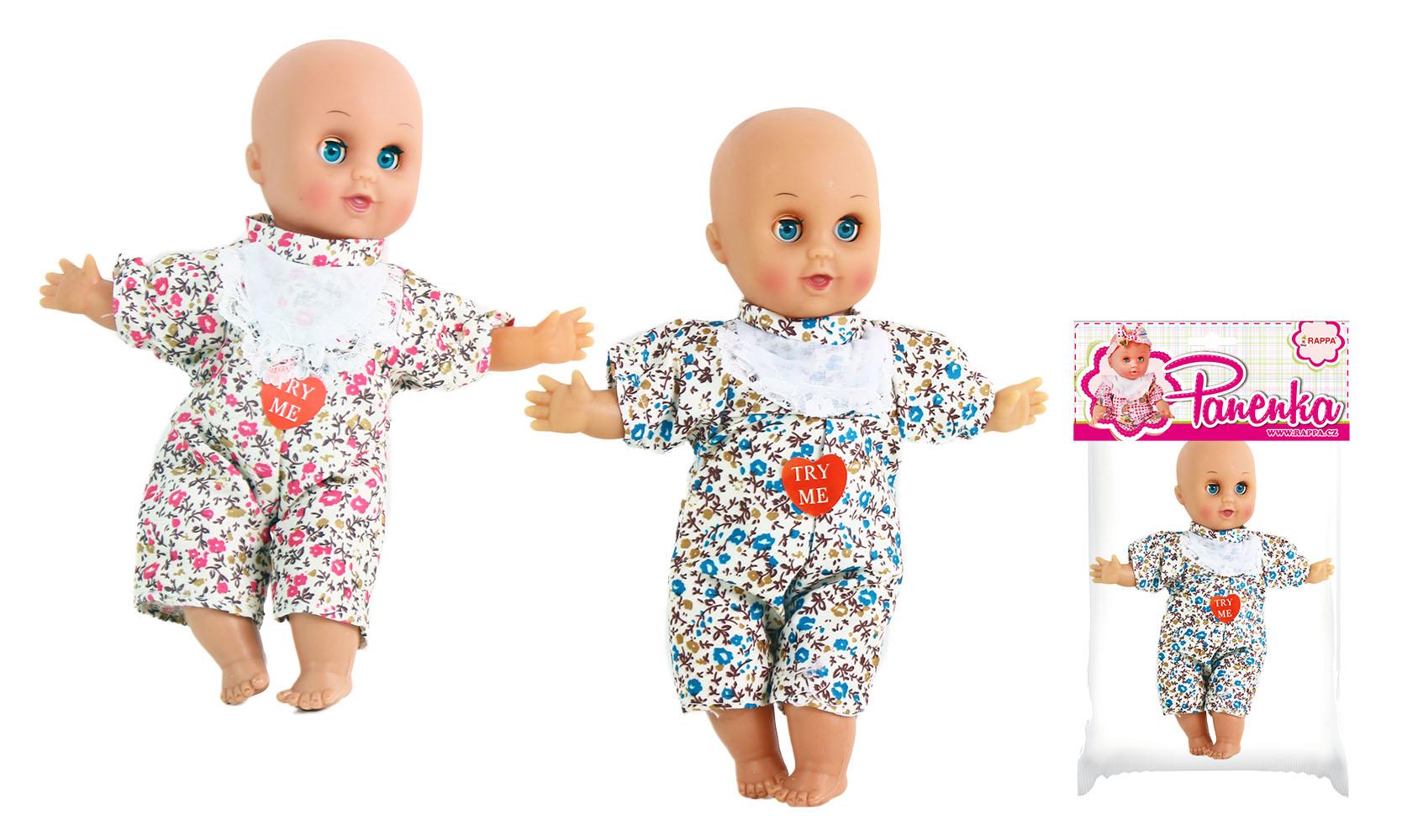 panenka - miminko se zvuk. 24 cm 2 druhy