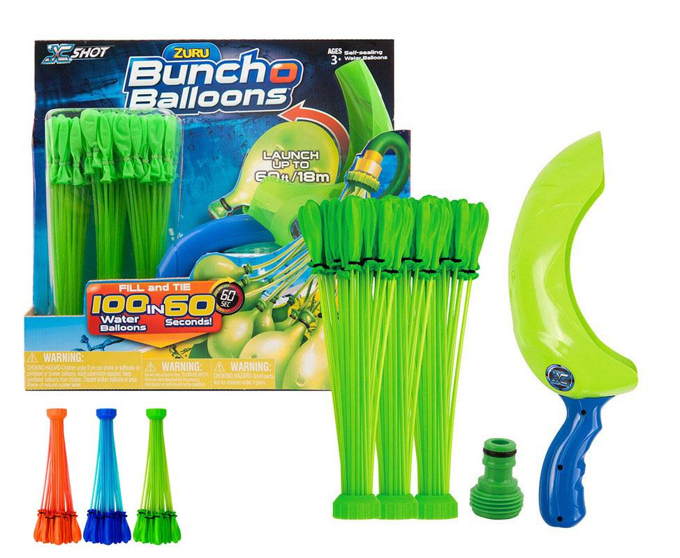 Zuru Vodná balóniková bitka - vodné balóniky s vrhačom