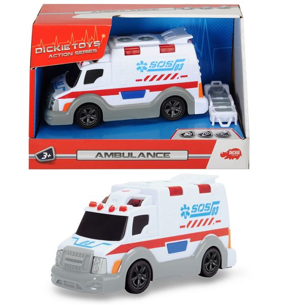 auto AS Ambulancia, 15 cm