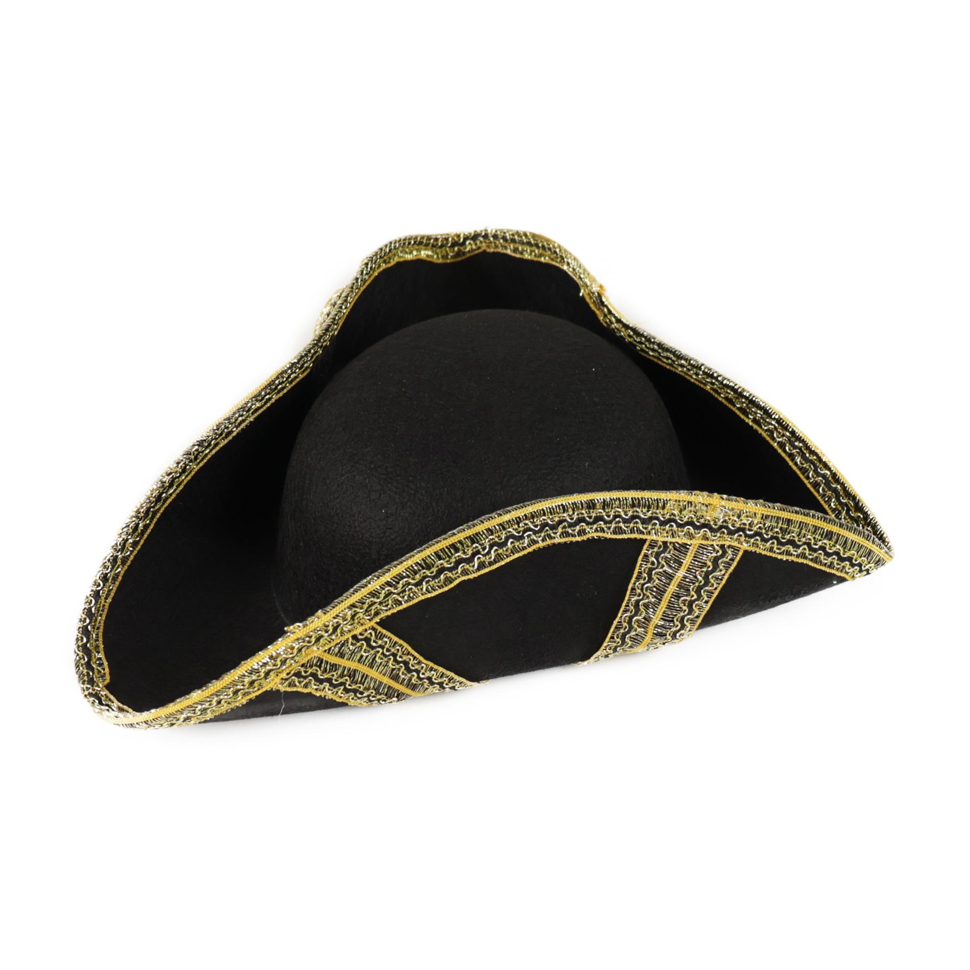 klobúk pirátsky, dospelý