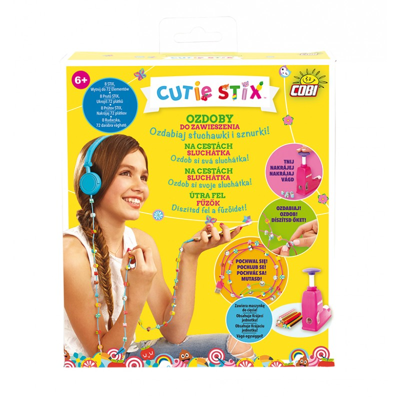 Na cesty: sluchátka CUTIE STIX
