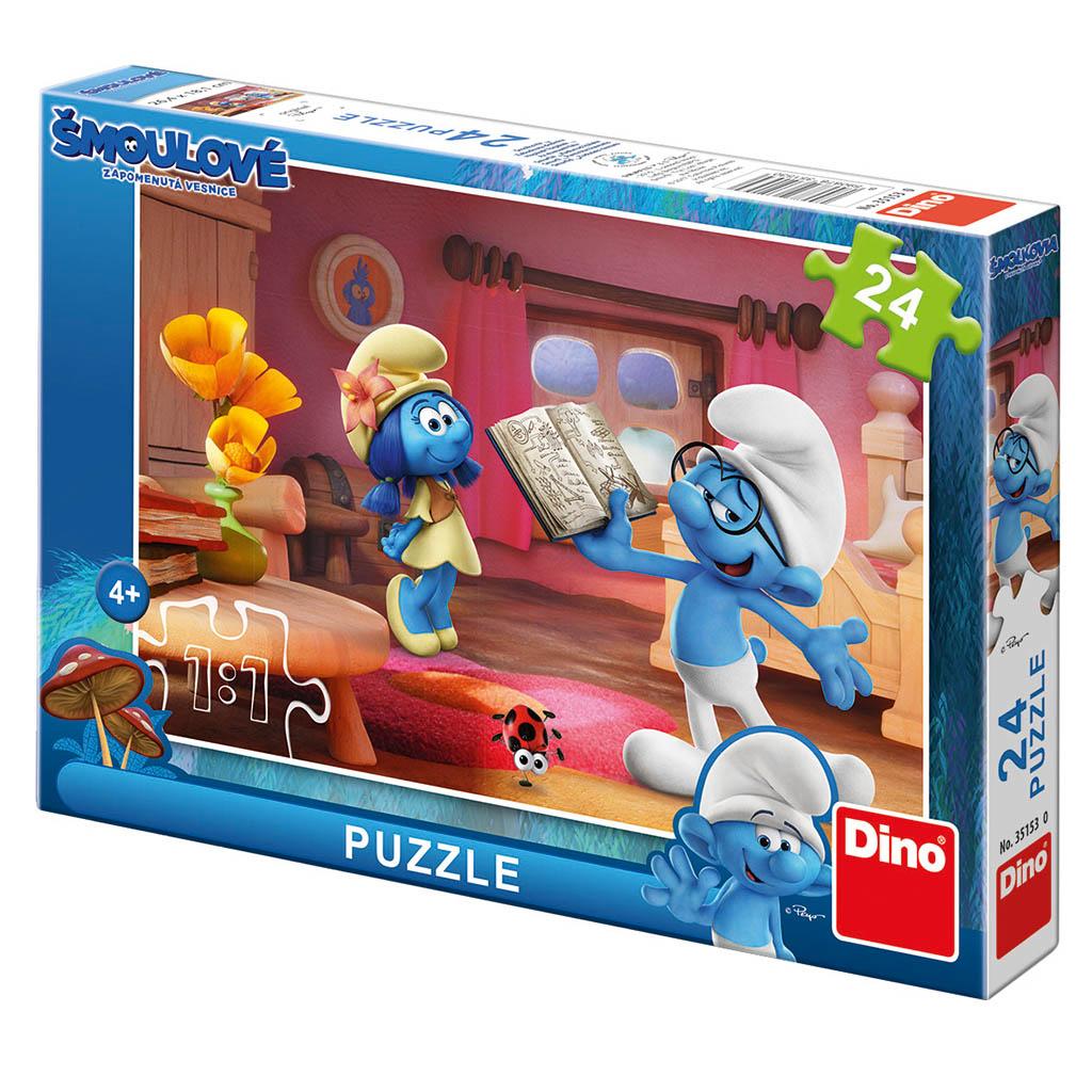 puzzle 24 Šmolkovia 3 Chvíľka poézie