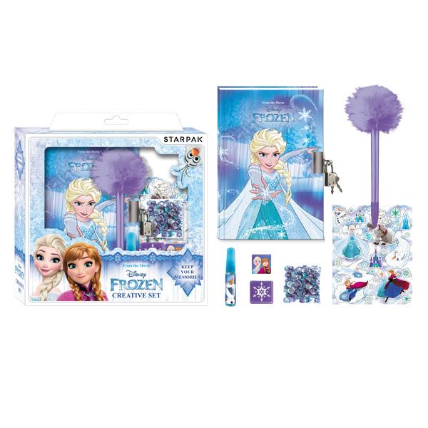 Kreatívna sada Frozen - Ľadové kráľovstvo 22 x 23 cm