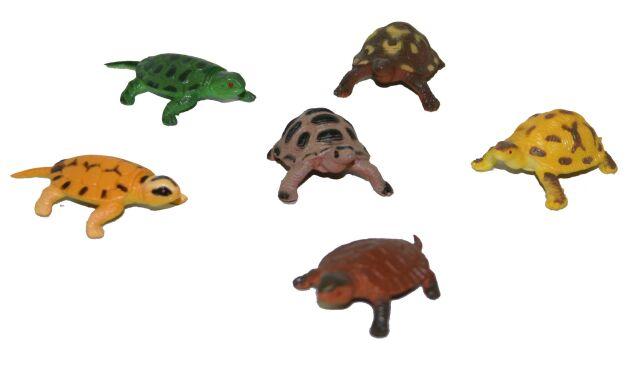 korytnačky, 6 ks vo vrecku