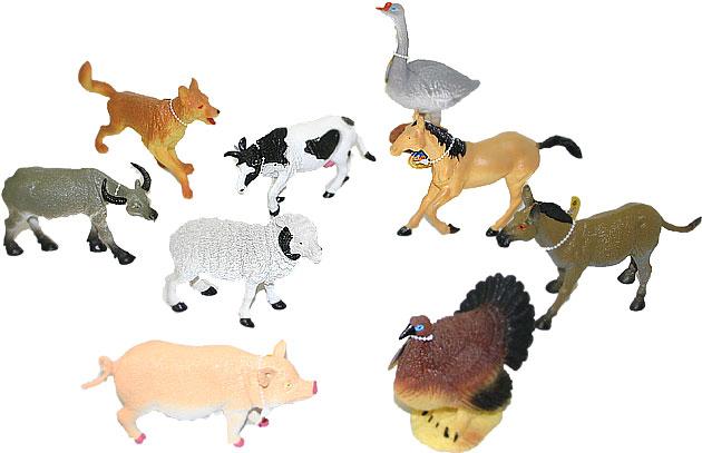 zvieratá domáce 14 - 17 cm