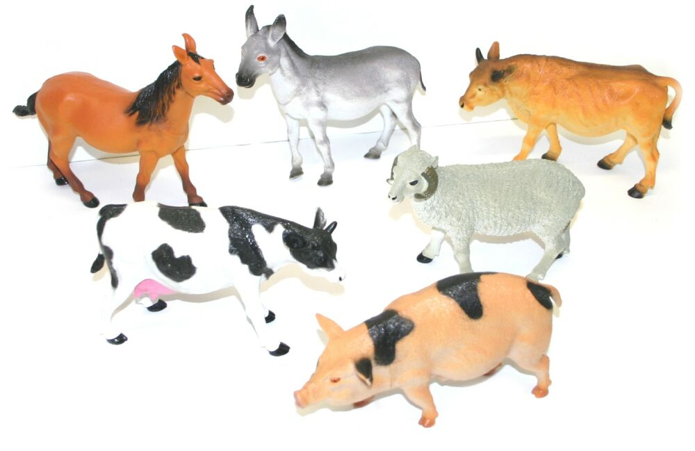 zvieratá domáce 22 cm