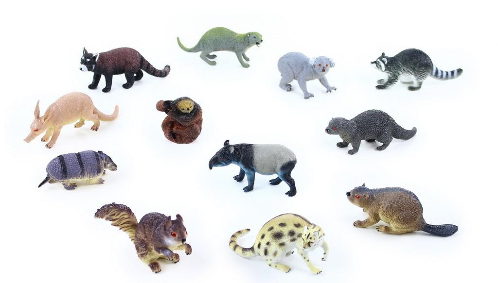 zvieratá lesná 11 - 18 cm