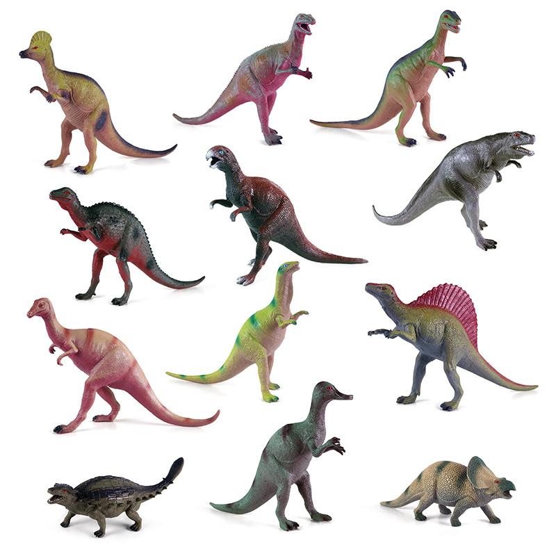 dinosaurus 25 - 33 cm, 12 druhov