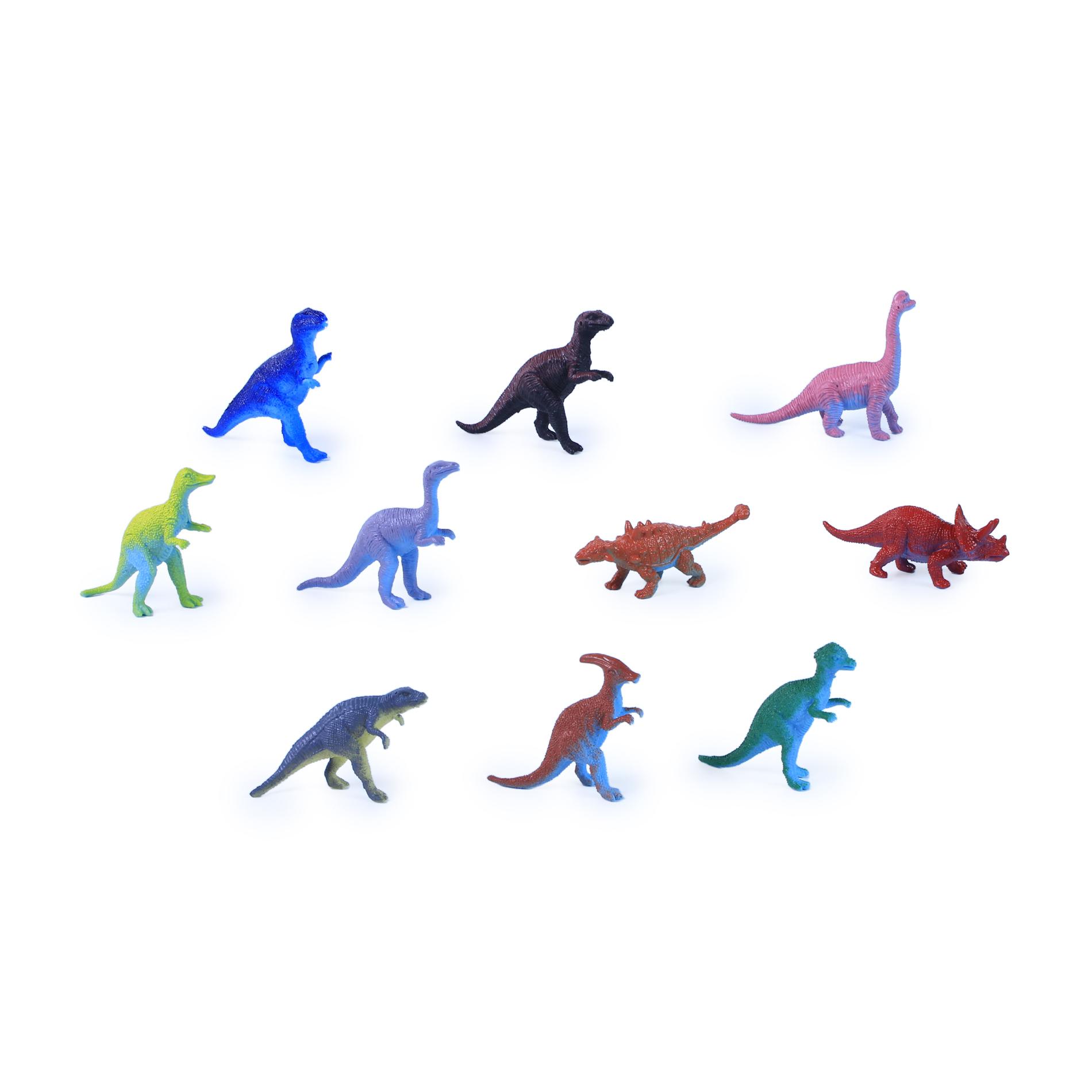 Dinosauři 10 ks v sáčku 2 druhy