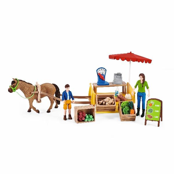 Schleich - Mobilní farmářský stánek