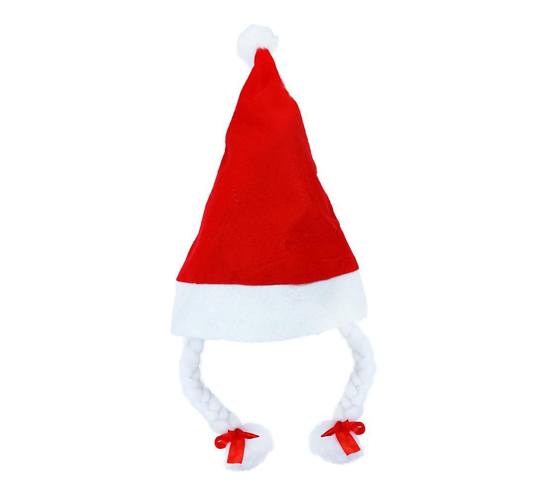 čiapka vianočná s copy