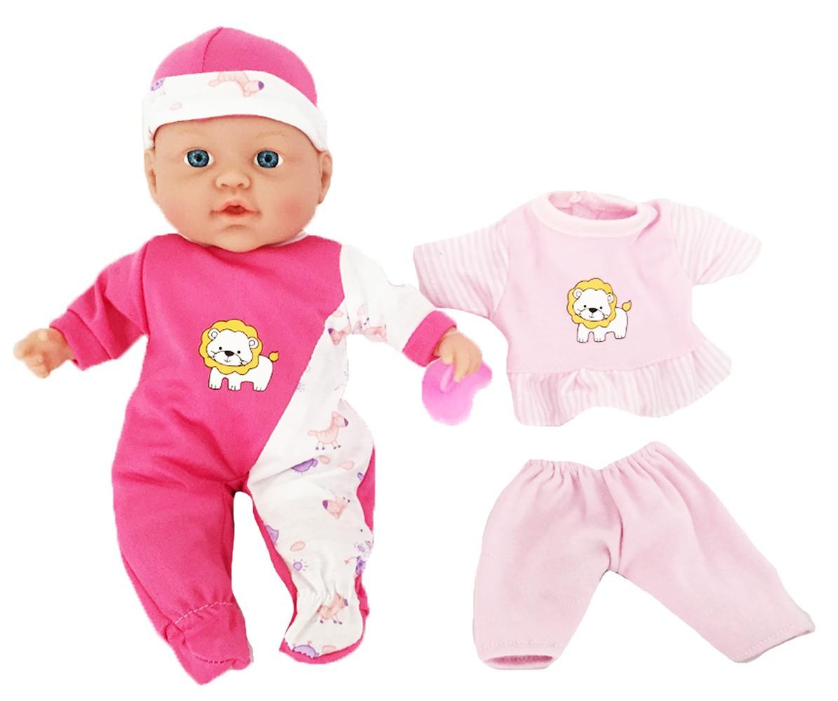 panenka se zvukem a oblečením 32 cm