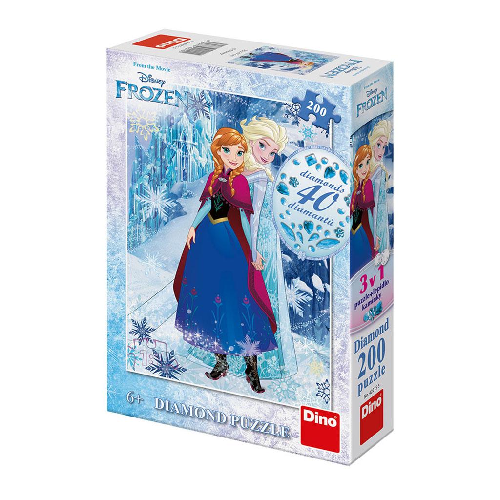 puzzle 200 dielikov FROZEN - diamanty