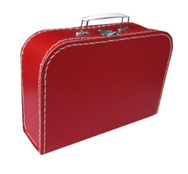 Kufr dětský 30cm červený