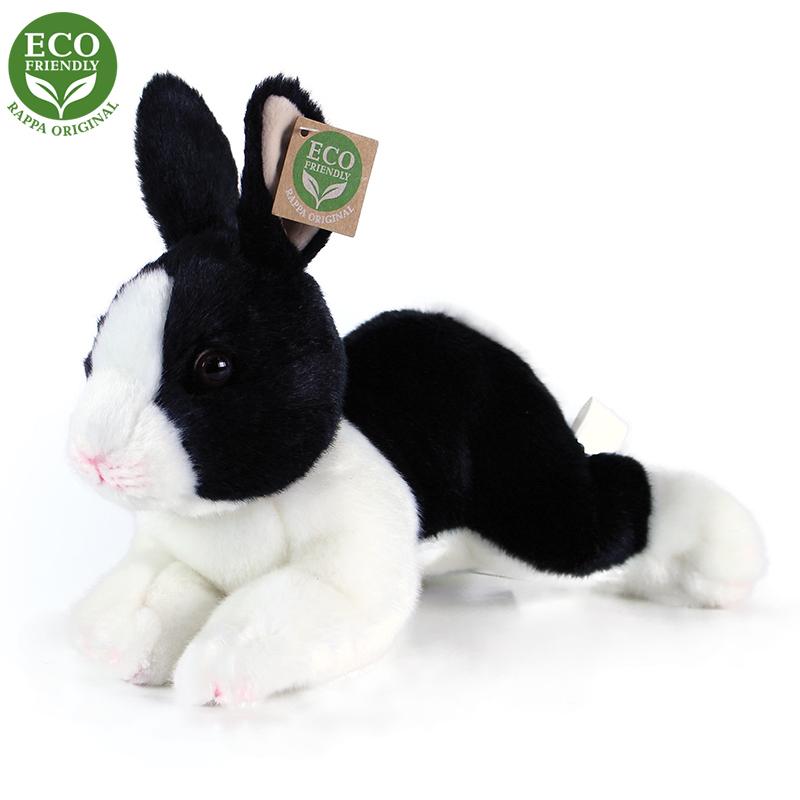 plyšový králik sediaci, 3 druhy, 23 cm