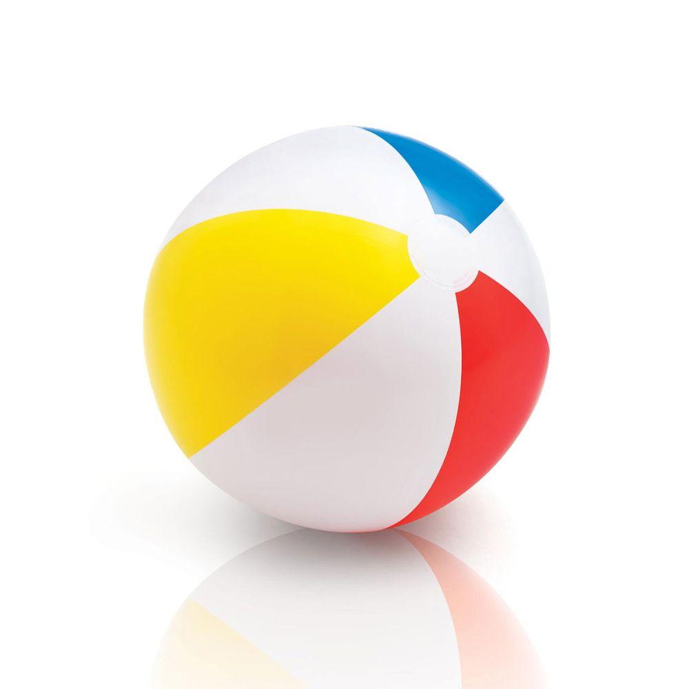 nafukovací míč 51 cm duha