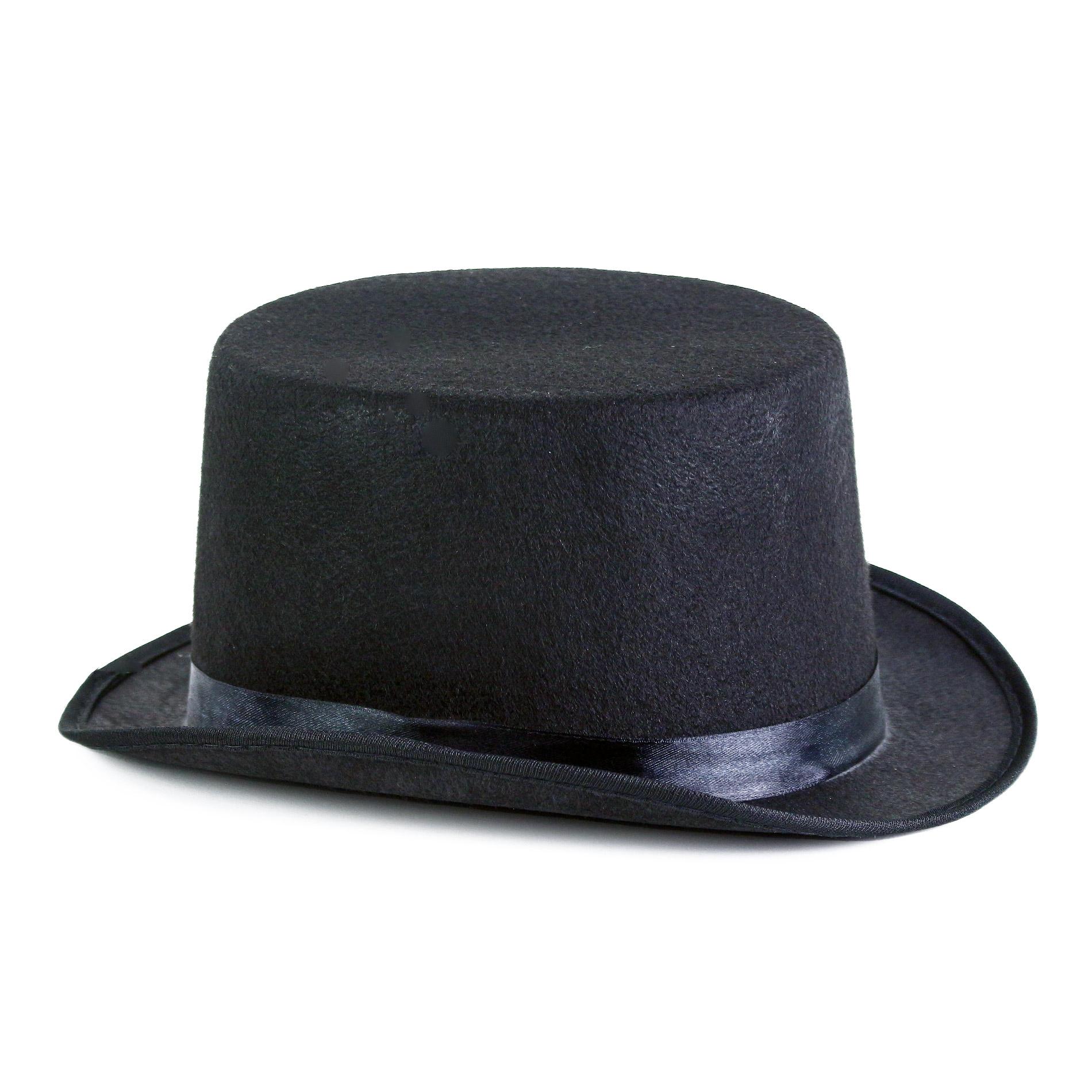 klobúk cylinder pre dospelých