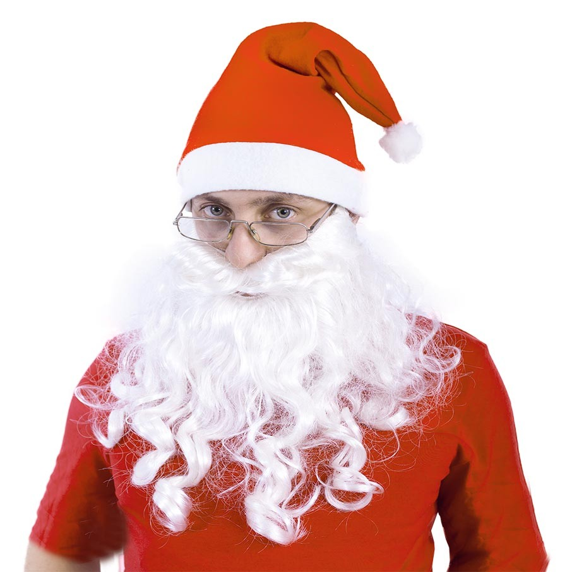 fúzy Santa dlhé