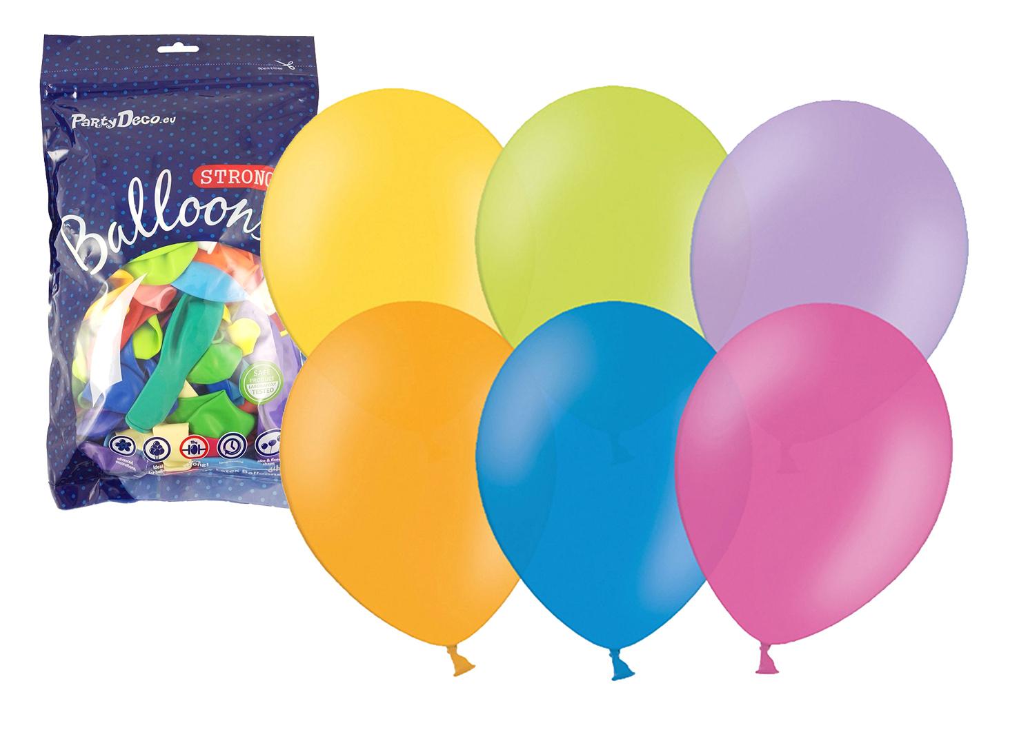 balónek nafukovací 27 cm v uzavíratelném balení