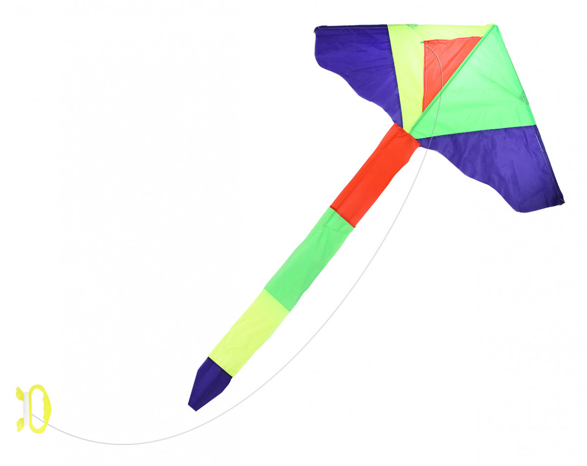 šarkan lietajúci nylonový 115 x 50 cm