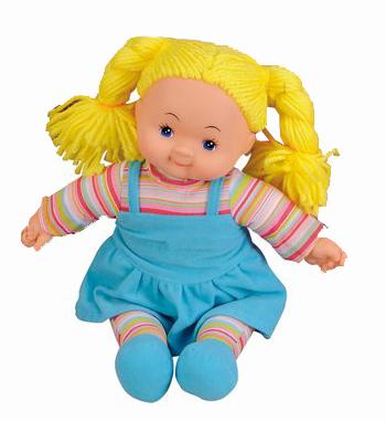 bábika handrová Cheeky 38 cm, 6 druhov