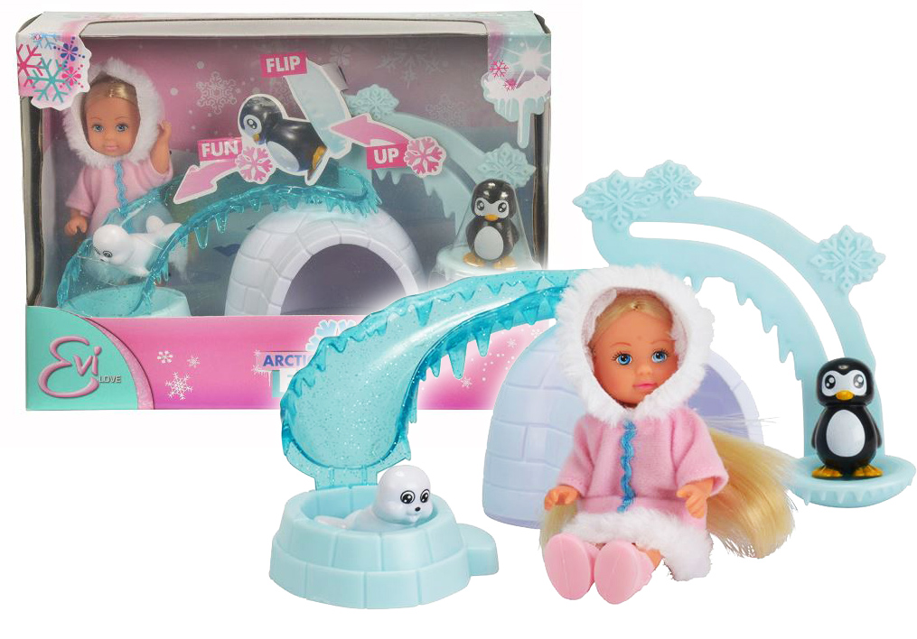 bábika Evička Arctic Friends