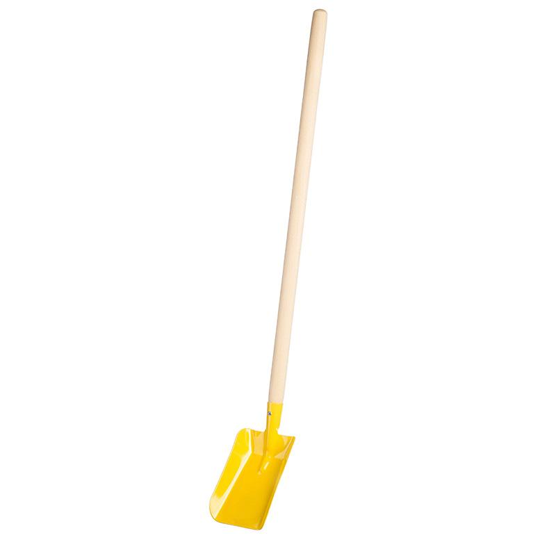 Lopata kovová žlutá velká 80cm