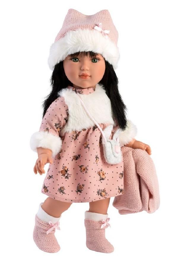 GRETA - realistická panenka s celovinylovým tělem 40 cm