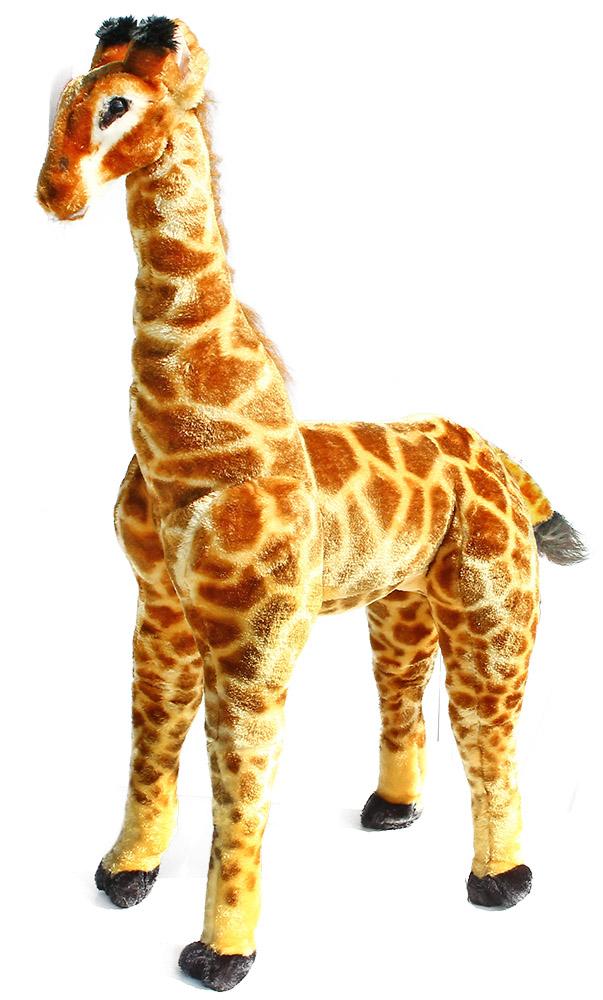 veľká plyšová žirafa 91 cm stojace - možno sedieť