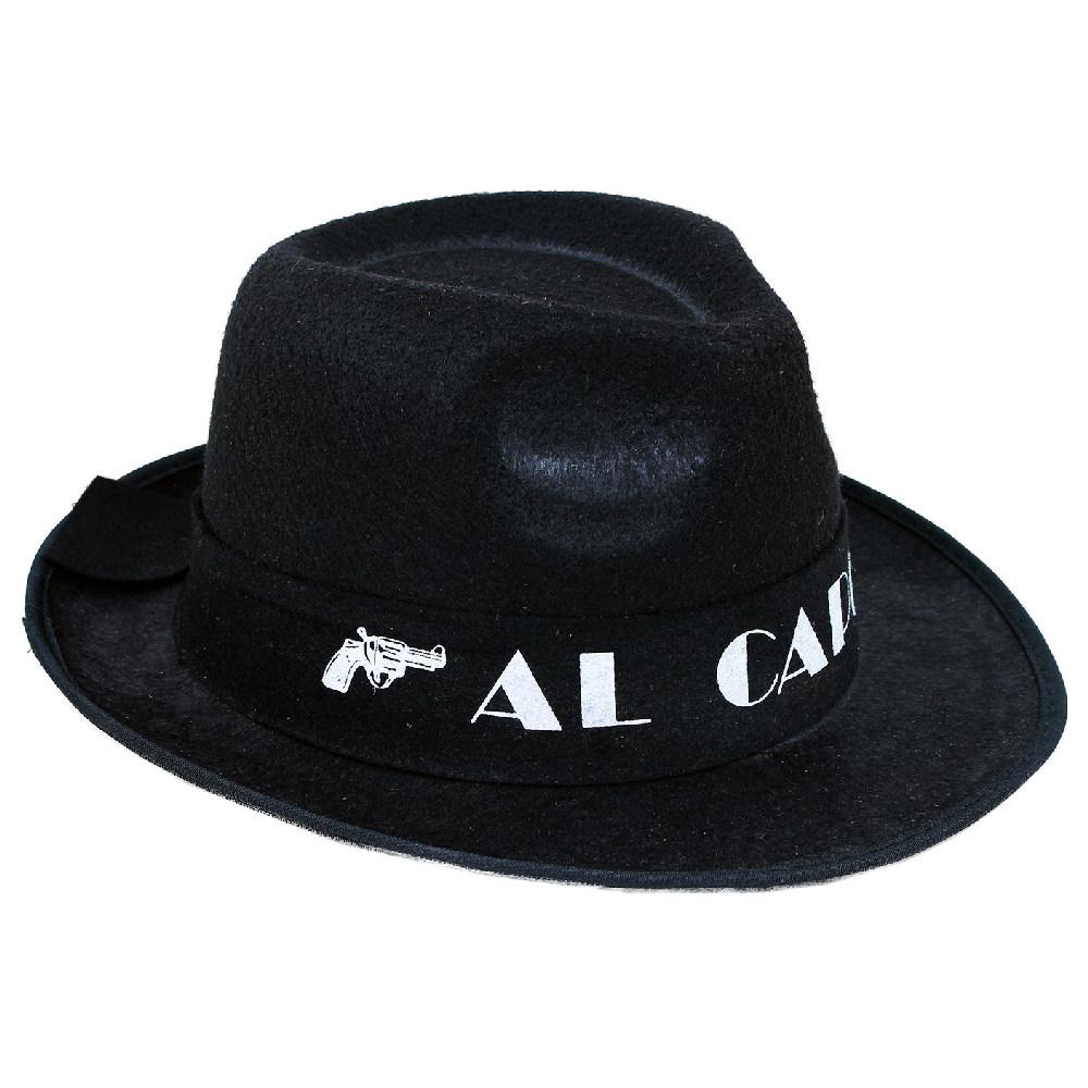 klobúk Al Capone pre dospelých