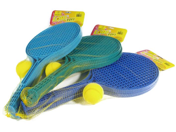 soft tenis farbený + 1 loptička