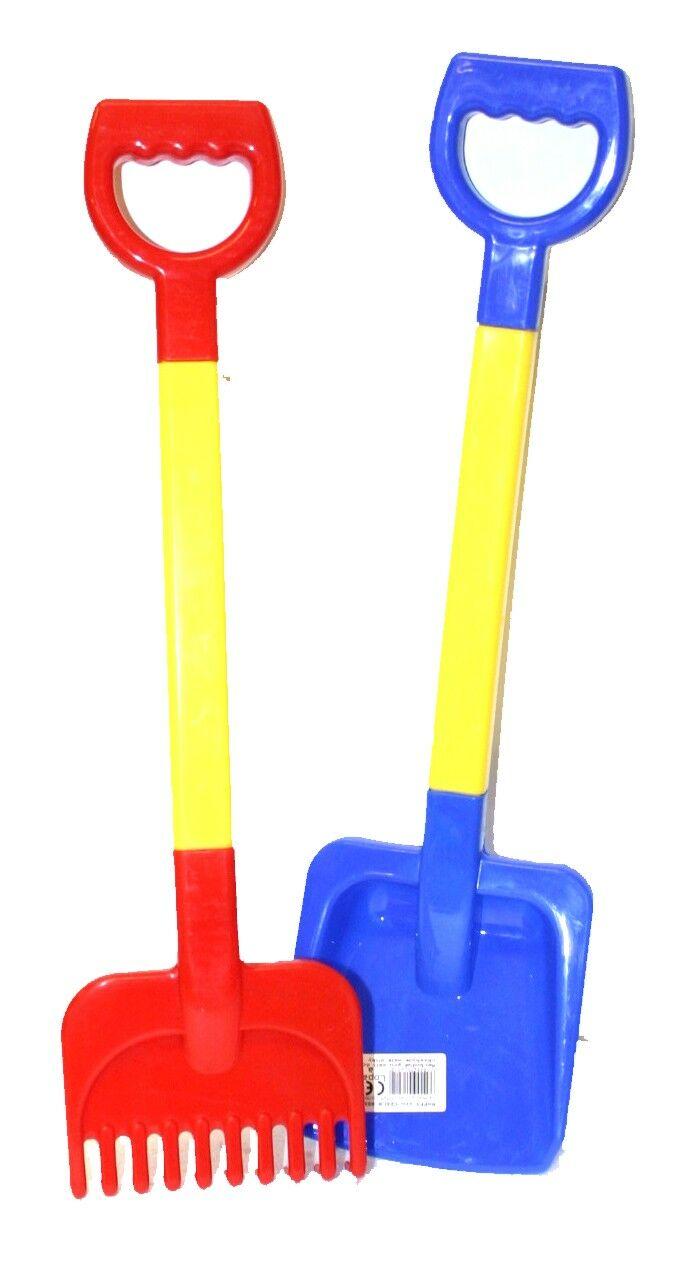 lopatka a hrable 55 cm plastové