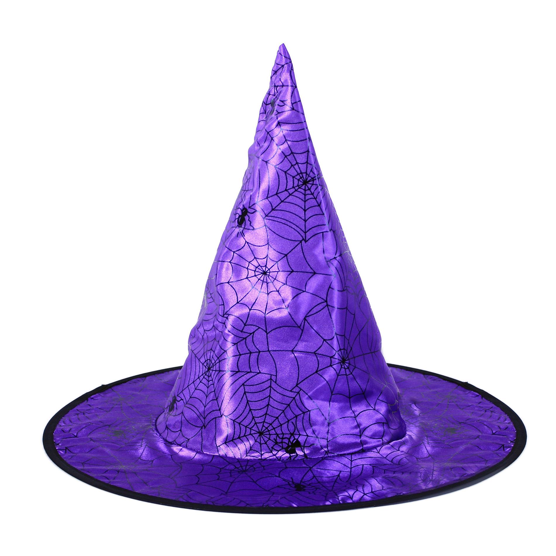 klobúk čarodejnícky fialový detský